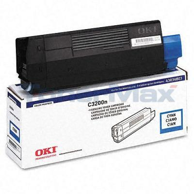 OKIDATA C3200 TONER CARTRIDGE CYAN